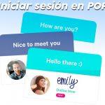 Iniciar sesión en español y entrar en POF [2020]